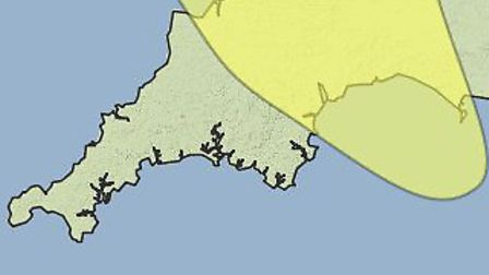 Ice warnings for North Devon cover Monday and Tuesday.