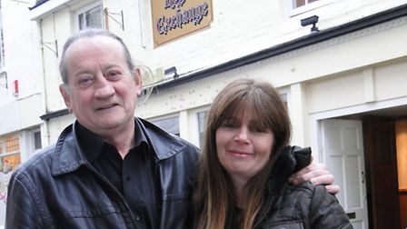 John and Julie Cusack are the new landlords of the Royal Exchange in Barnstaple, which has reopened