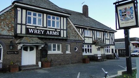The Wrey Arms pub in Sticklepath, Barnstaple, has closed its doors this week.