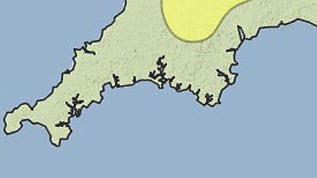 Ice warnings cover parts of North Devon this weekend.