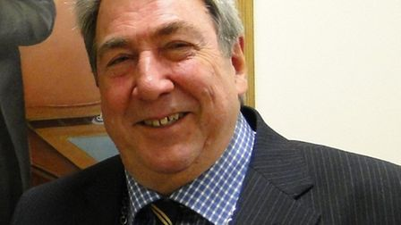 Peter Rawle, whose resignation due to ill health in January has prompted a by election in Ilfracombe