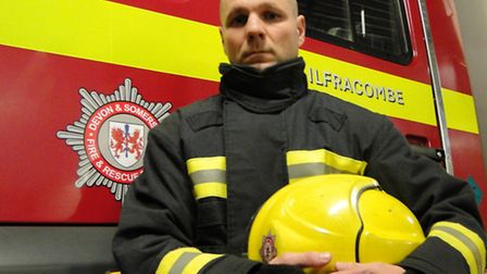 Ilfracombe fire fighter Trevor French is among those calling on the community to stand up for their