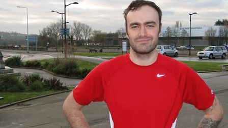 Ben Brewer will be setting off from the Square in Barnstaple on his epic 130-mile journey.