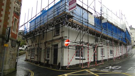 Last year work was done on the properties to weather proof them and provide a new roof.