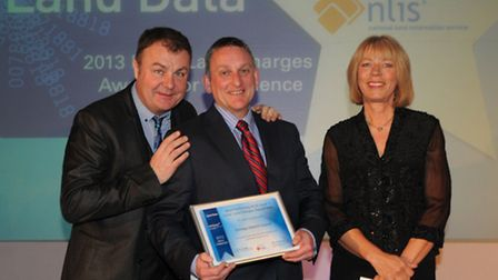 Paul Ross, Kevin Crowl from Torridge District Council and Kate Crook from the NLIS hub.