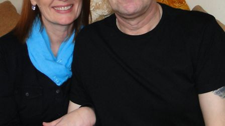Ilfracombe couple Michele and Gary Marshall hope enough money can be raised to send him to America i