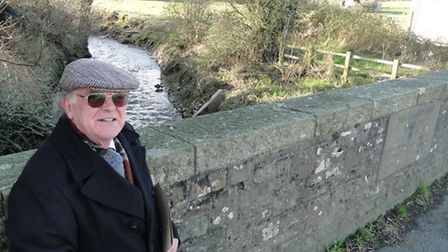 Bishops Tawton parish councillor Chris Verney is among those calling for an upgrade to the pumping s