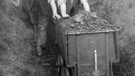 Bideford Black Miners 1935, Image from Ackland and Edwards archive.