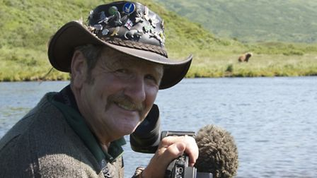 Johnny Kingdom filming bears during his trip to Alaska - being shown in a one hour television specia