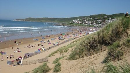 Woolacombe Beach has been named the second best in the whole UK and fifth in Europe.