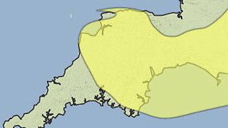 The Met Office has issued a yellow warning of rain for Thursday and Friday.