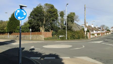 The mini roundabout by Shorelands Road in Barnstaple branded a 'waste of money' by some locals.