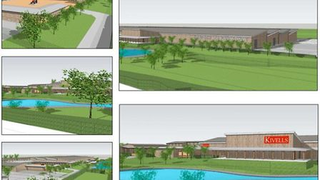 Plans for the new AgriBusiness Centre and livestock market in Holsworthy. By Grainge Architects.
