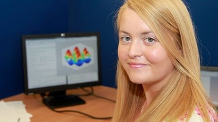 Physics research student Claire Woollacott impressed the judges at a national competition held in th