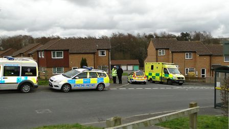 The body was discovered at Treefield Walk this morning.
