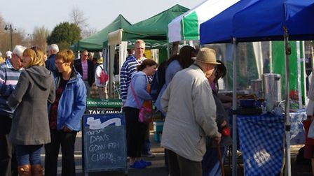 Bideford's popular farmers' market is making a welcome return to the quay this weekend.