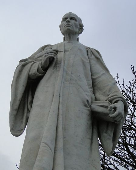The Kingsley Statue.
