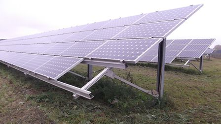 A proposed solar fram at Georgeham has been turned down by the NDC planning commitee. Picture for il