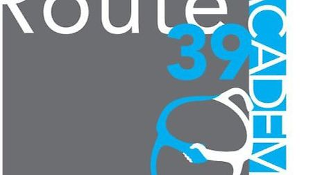The Route 39 logo.