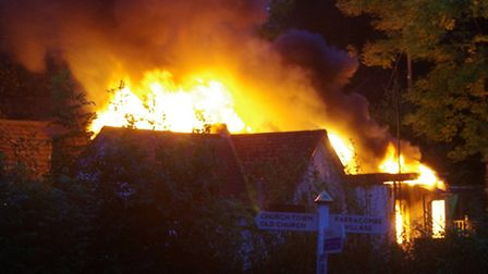 The fire struck Parracombe School on the morning of September 20, 2011 but now plans have gone in fo