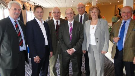 Pictured with the North Devon Conservative Association management committee is Conservative Party ch