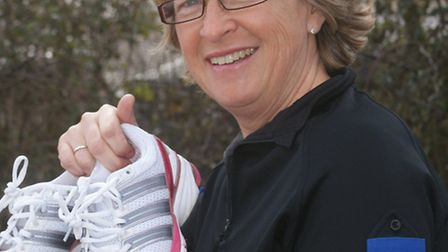 Ilfracombe Easts PCSO Karen Grant will be pounding the pavements of Brighton for charity on Sunday.
