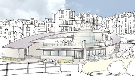 An artist's impression of the proposed new JD Wetherspoon in Ilfracombe.