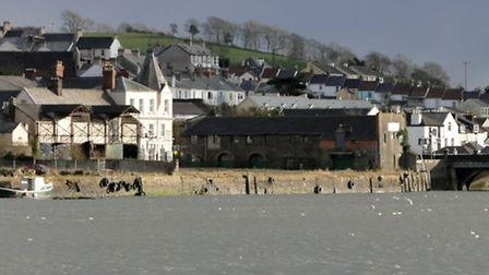 The East-the-Water wharves site is the subject of a major development brief.