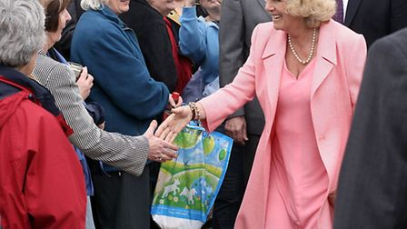 The crowds were delighted to meet the Duchess where she last attended the Devon County Show in 2008.