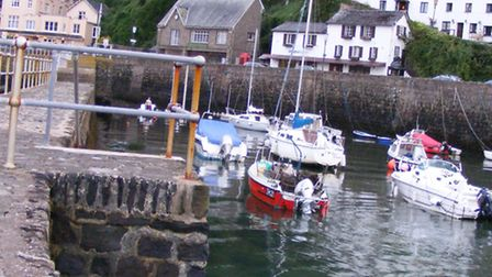 The harbour at Lynmouth. The Lynton and Lynmouth Neighbourhood Plan will help decide the future of t