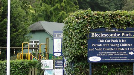 Bicclescombe Park, Ilfracombe.