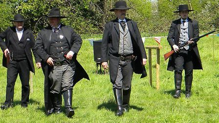 The 'American Victorians' are coming to Ilfracombe on Tuesday.