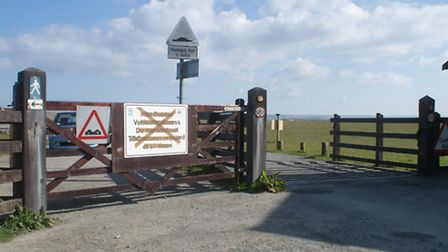 Torridge District Council has opened the gates at Northam Burrows.
