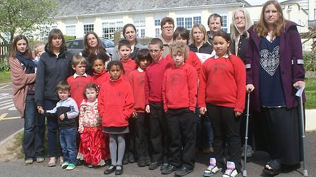 Parents of pupils at Lapford Primary School fear moving Year 6 pupils to Chulmleigh Primary School n
