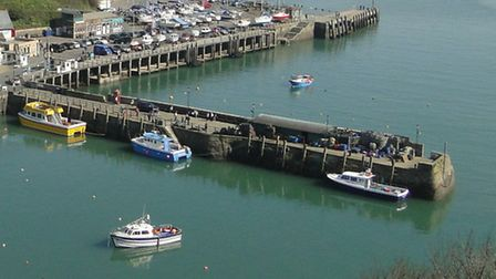The Old Quay Head in Ilfracombe.