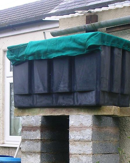 Rainwater harvesters are a good way of helping to cut down on water bills.