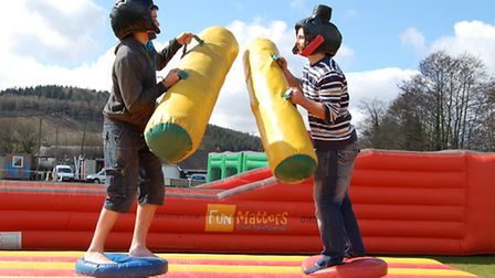 Amigos will be hosting an 'It's A Knockout' style competition at its fun day on Saturday.