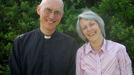Reverend Michael Grandey and his wife Lis will be moving to South Molton later this year when he bec