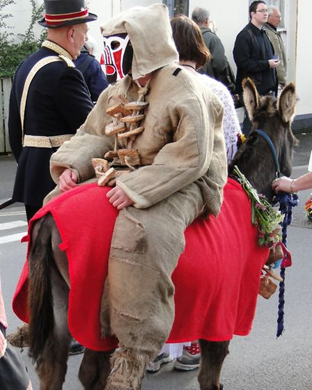 Combe Martin is Hunting of the Earl of Rone during the May spring bank holiday weekend.