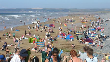 Westward Ho! has been awarded its 10th blue flag status in a row.