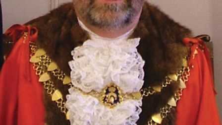 Incoming Mayor of South Molton Cllr Stephen White.