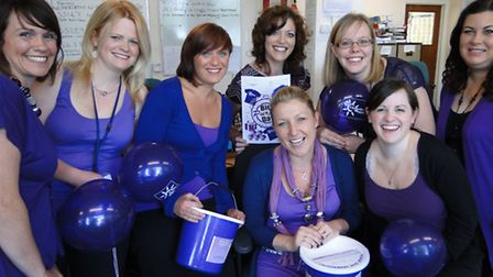 North Devon Council customer services staff are gearing up for Purple Day.
