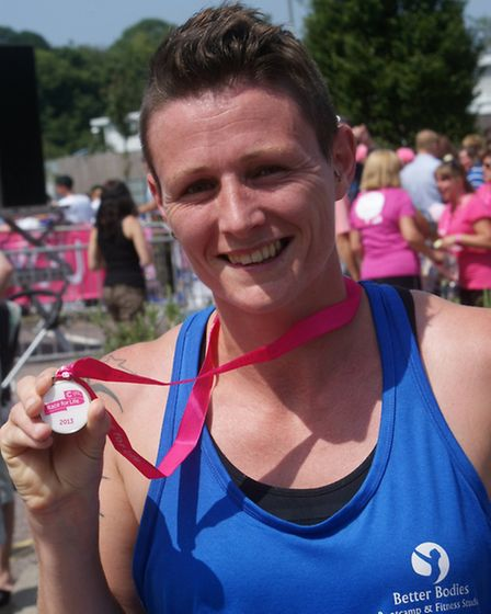 First across the finish line was Vic Rolfe from Bideford. To order this photo and see others click o
