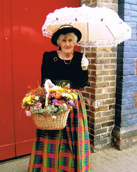 Joan Walton loved donning outfits for different seasons and themes while she ran her Barnstaple Pann