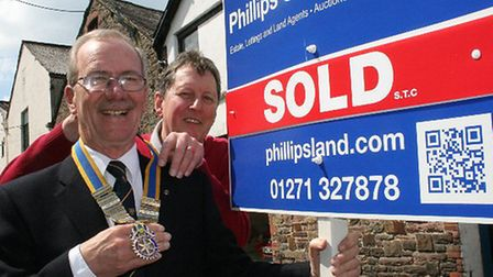 Car dealer Chas Green and estate agent Richard Smith are the outgoing and incoming presidents of Bar