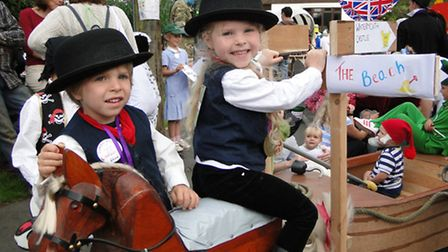 'UncleTom Cobbley in miniature' at last year's Combe Martin Carnival - there is still time to get yo