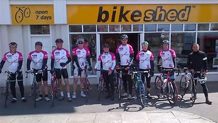 The Barum or Bust team will be setting off from Blackpool on Monday.