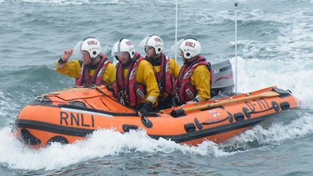 Ilfracombe's RNLI inshore lifeboat. Picture: RNLI/Ilfracombe.