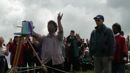 People will be gathering at Holdstone Down in Combe Martin on Saturday for the annual Big Pilgrimage