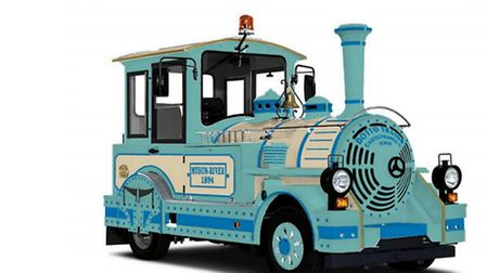 A Dotto train decked in Ilfracombe colours could soon be cruising the town streets.
